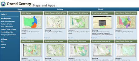 County Maps & Apps