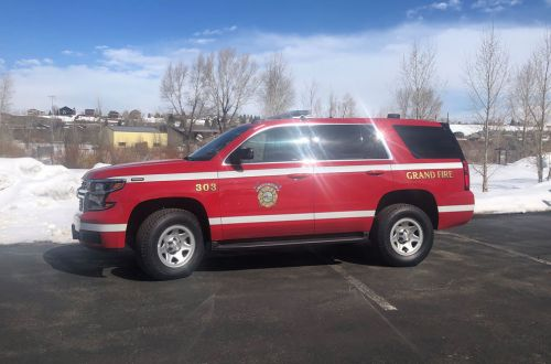 303 - Chevy Tahoe, Command SUV